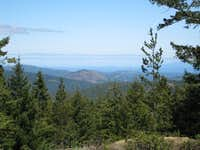 Mt Finlayson from Ragged Mountain.