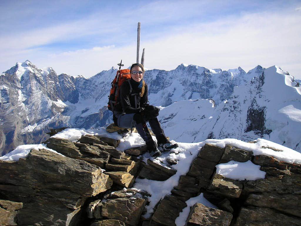 Summit of Bütlasse 3193m