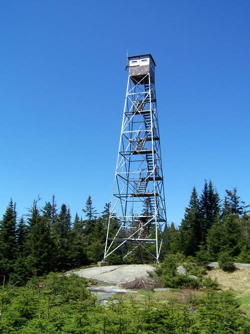 Pillsbury Mountain Fire Tower