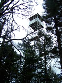 Snowy Mountain Fire Tower