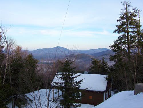 Goodnow Mountain Observers Cabin