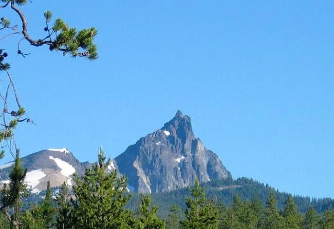 Mt. Thielsen from the...