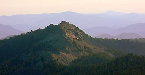 Sawtooth Mt. from Cowhorn Mt.