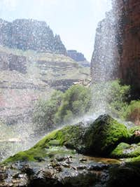 Ribbon Falls- North Kaibab Trail- Grand Canyon