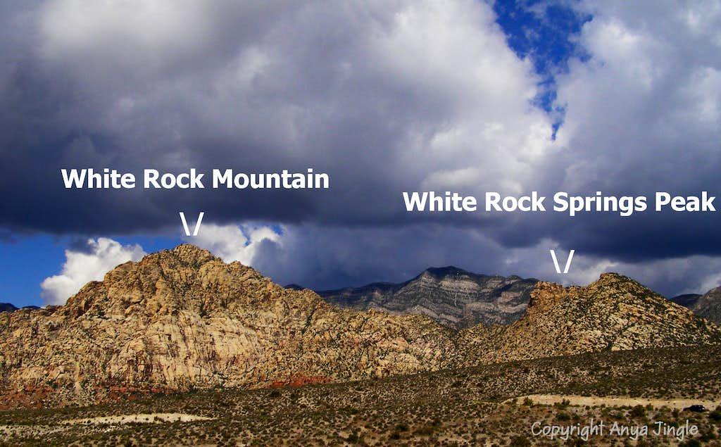 White Rock and Springs Peak