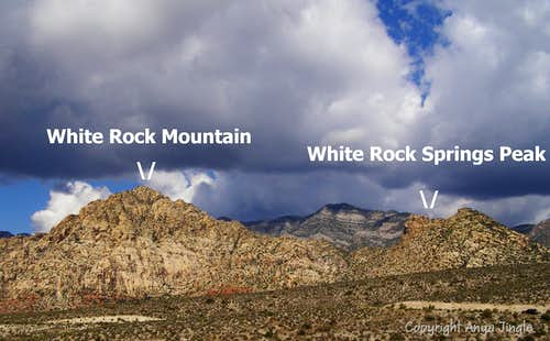 White Rock and Springs Peak