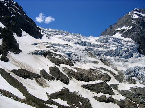 Glacier by Wetterhorn 3692m