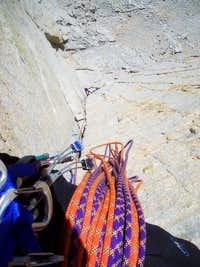 Troutman following the 1st pitch of the Dihedral
