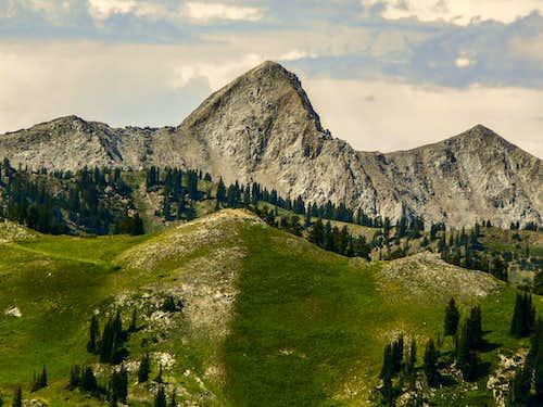 Pfeifferhorn from Honeycomb Cliffs