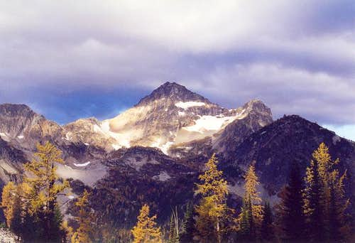 Black Peak from the SE (from...