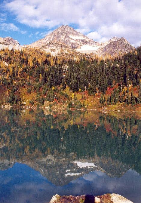 Two images of Black Peak on...