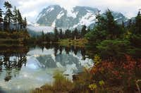 Mt. Shuksan and Picture Lake