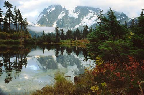 Mt. Shuksan and Picture Lake