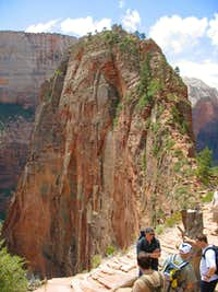 Angels Landing cliff