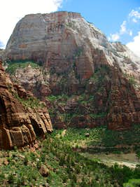 Great White Throne from Angels Landing trail