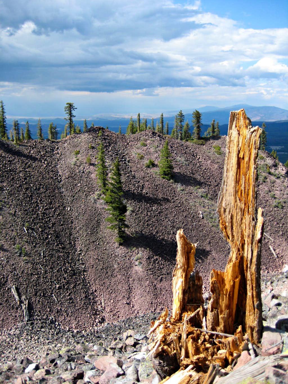 The terrain of Black Butte.