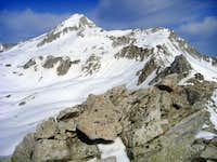 pfeifferhorn from the white baldy ridge