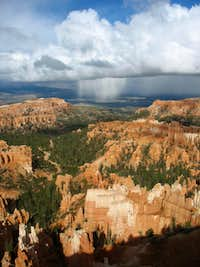 Stormclouds over Bryce