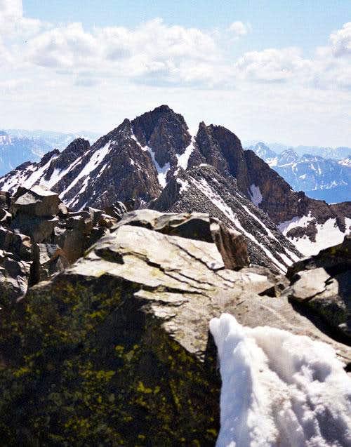 Mount Wilson from El Diente's...