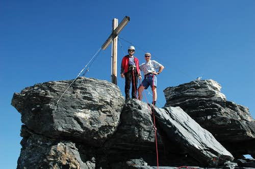 Summit of Gross Spannort 3198m