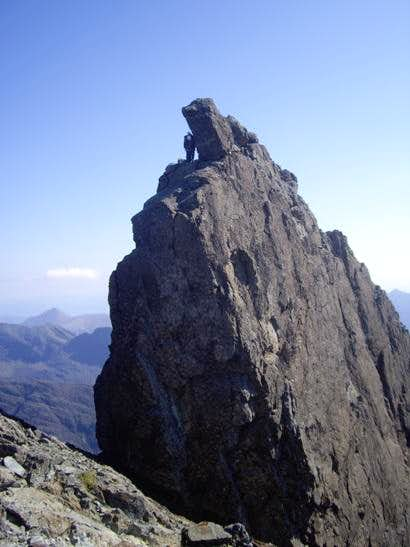 First sight of the Inaccessible Pinnacle