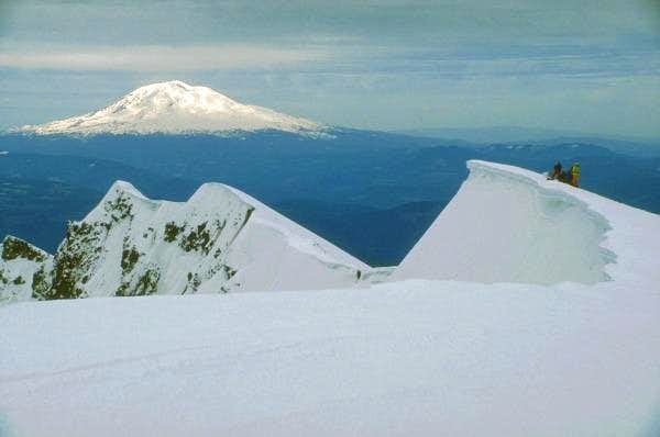 Mt. Adams from the south rim...