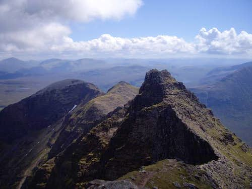 An Teallach Pinnacles from Sgurr Fiona