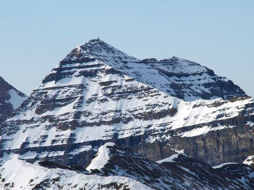 view of summit from North Timp