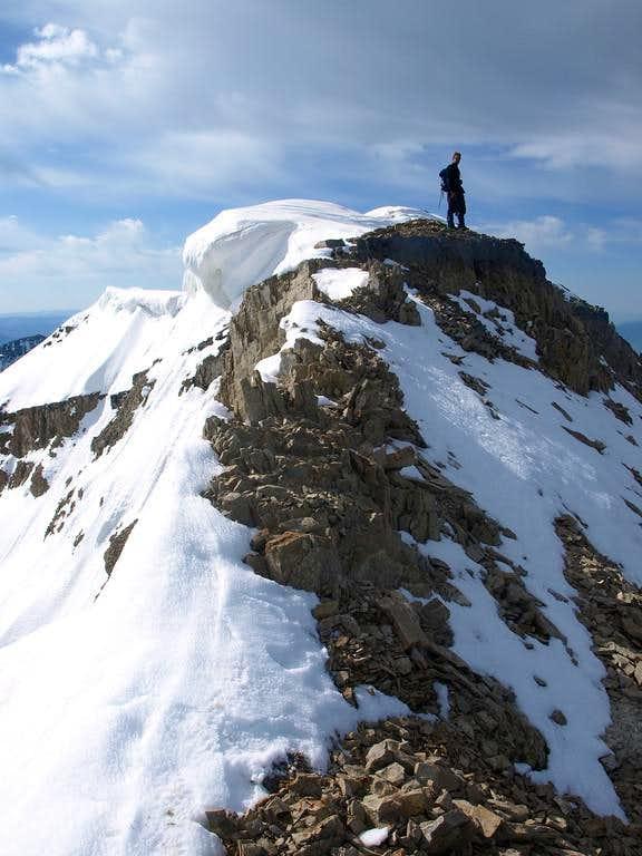 atop the summit
