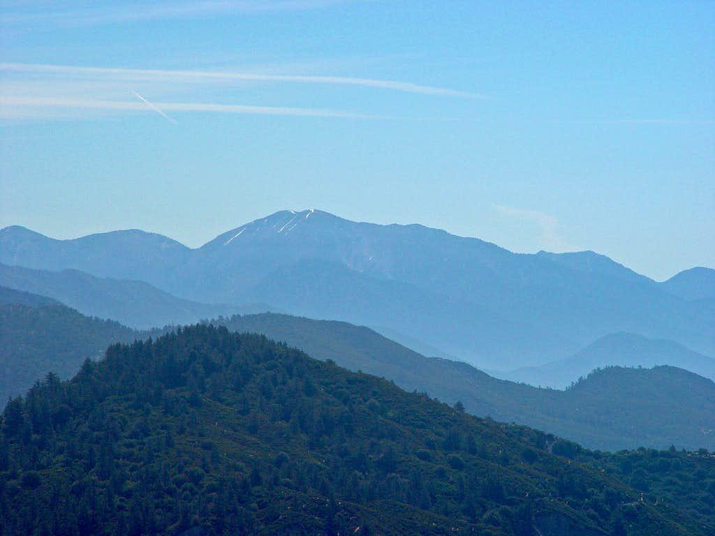 Mount Baldy from Vetter Mountain