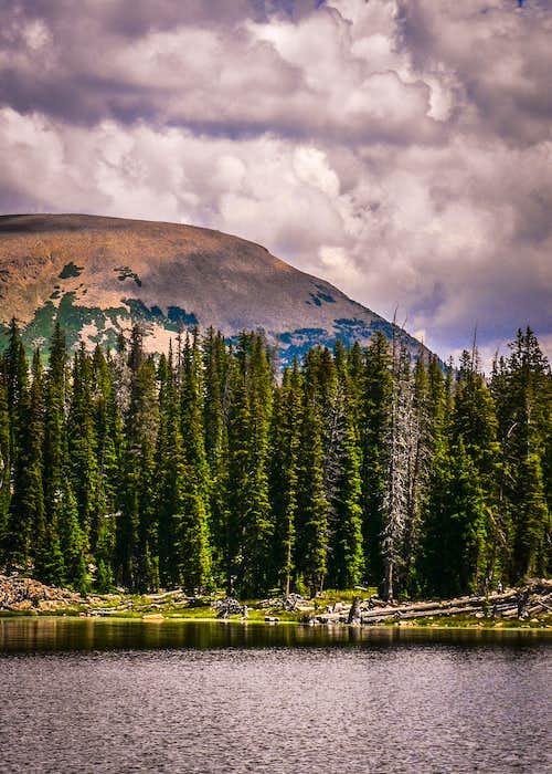 Mt. Watson from Marjorie Lake