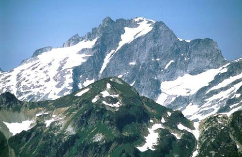 Dome Peak from the south near...