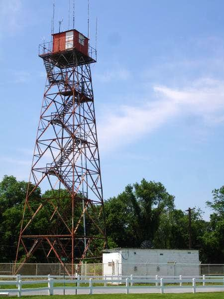 Radio tower located near Highpoint