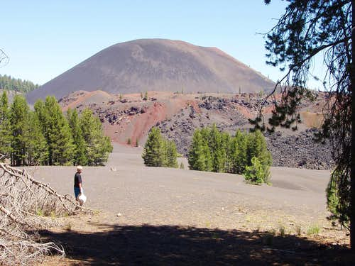 Approaching Cinder Cone