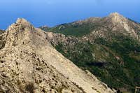 View from Mt Capanne summit