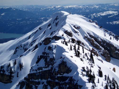 Elkhorn Peak from Mt Baird