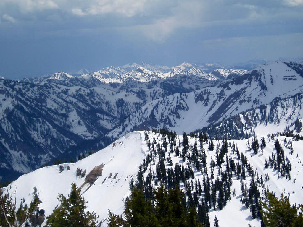 Salt River Range Peaks
