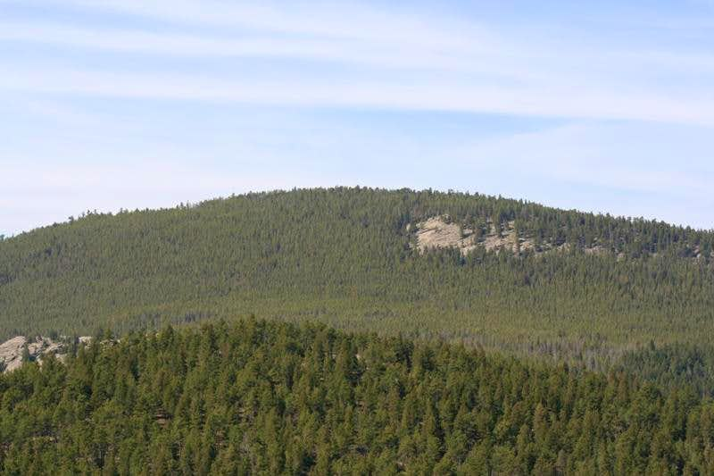 Evergreen Mountain from the Trailhead