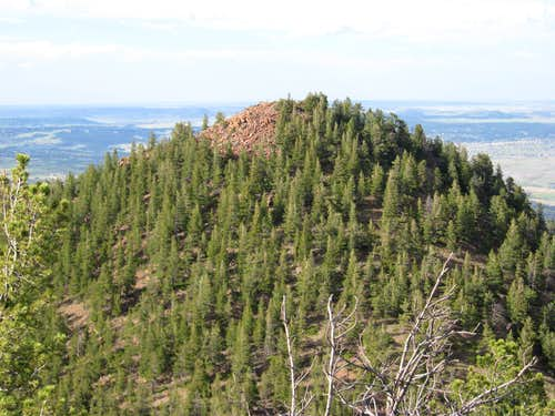 Eagle Peak from UN9400