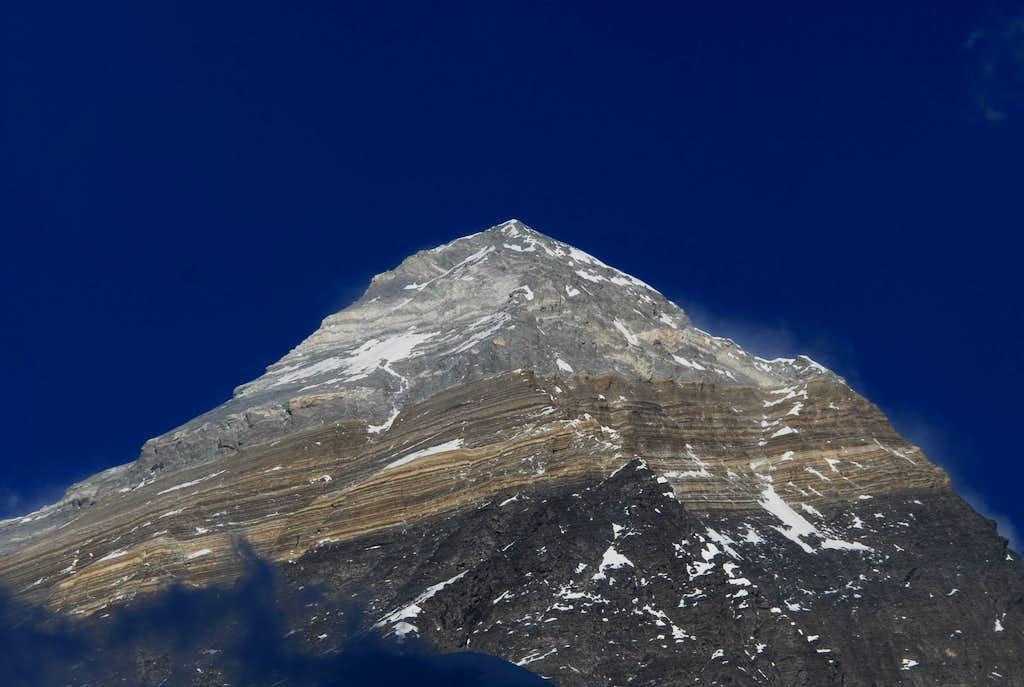 Mt  Everest From Pumori Camp 1   Photos  Diagrams  U0026 Topos