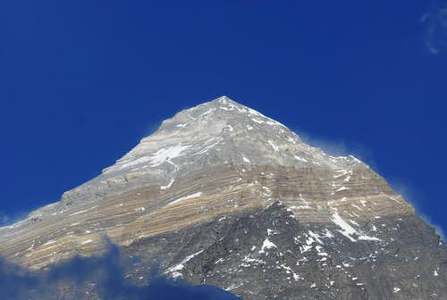 Mt. Everest from Pumori Camp 1