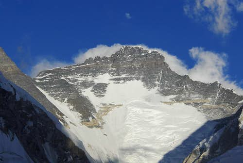 Lhotse from Pumori Camp 1