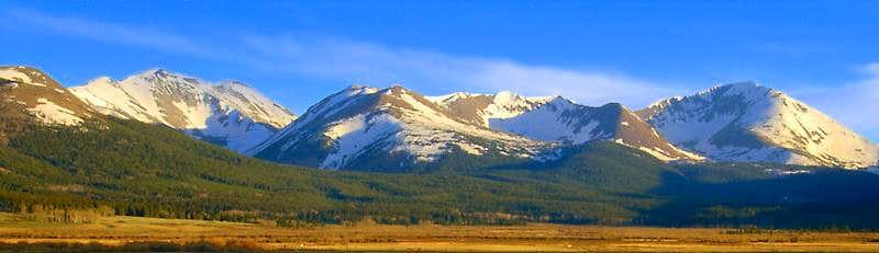 Bald Mountain and Mt. Guyot