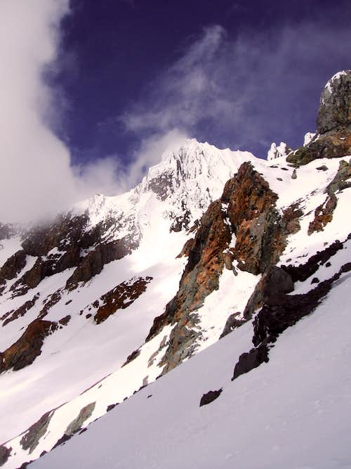 Leuthold Couloir Entrance