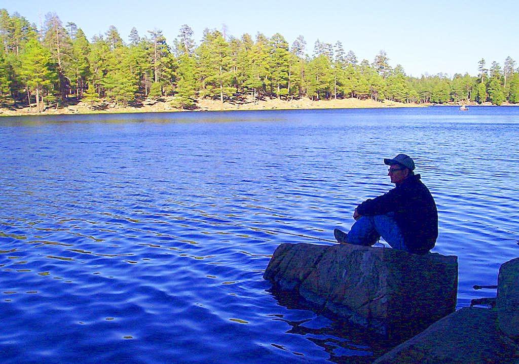 <i>Lulling Around at The Lake</i>