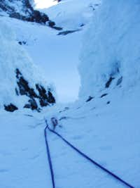 Jamies Gully Crux