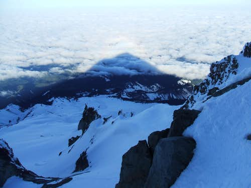 Mount Hood\'s Shadow