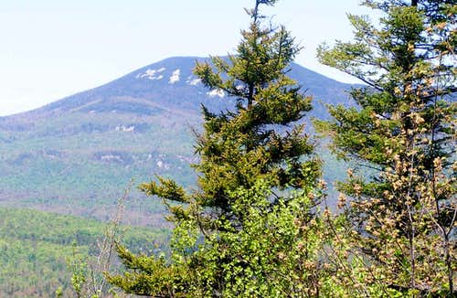 Blue Mtn. from Sawyer Mtn.