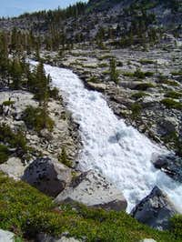 Horsetail Falls on the way to...