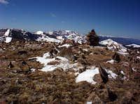 summit of Trinchera